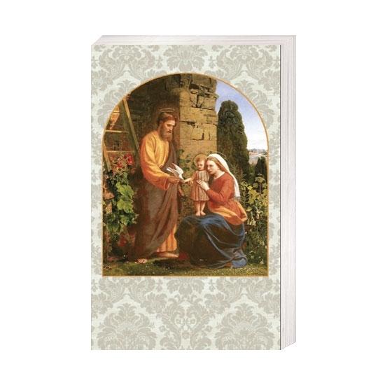 Święta rodzina z gołąbkiem - Obrazek kolędowy - OB14