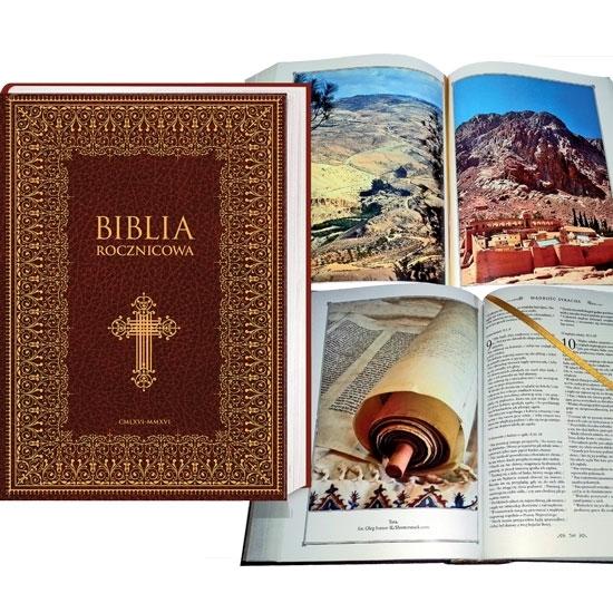 Biblia rocznicowa 966-2016 - Pamiątka Chrztu Polski - Prezentacja