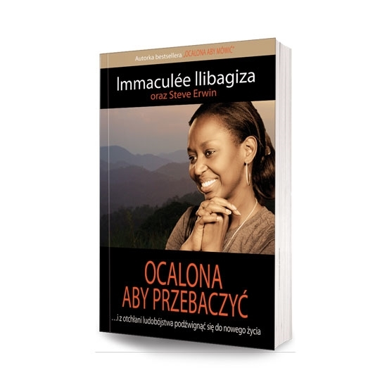 Ocalona aby przebaczyć - Immaculee Ilibagiza, Steve Ervin : Książka