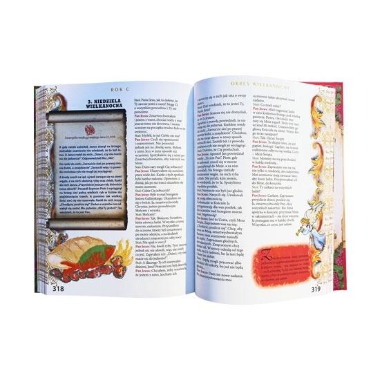 Biblia w rodzinie. Ewangelia dla naszych dzieci - zawartość