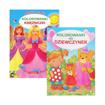 Kolorowanki dla dziewczynek : Książeczki