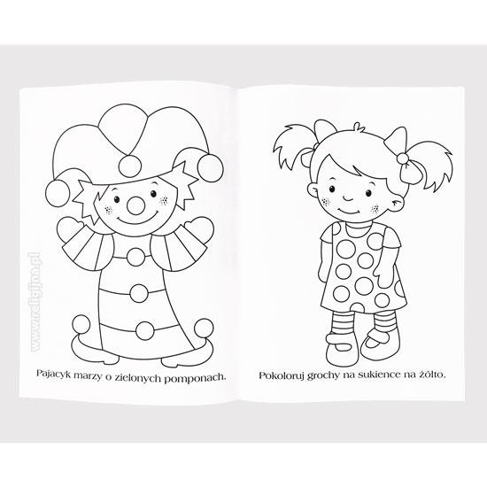 Kolorowanki dla dziewczynek : zawartość