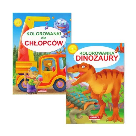Kolorowanki dla chłopców : Książeczki