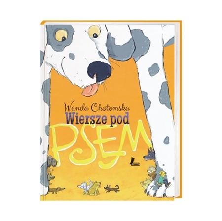 Wiersze pod psem - Wanda Chotomska : Książka