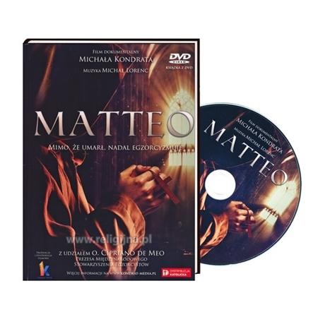 Matteo. Książeczka z filmem DVD