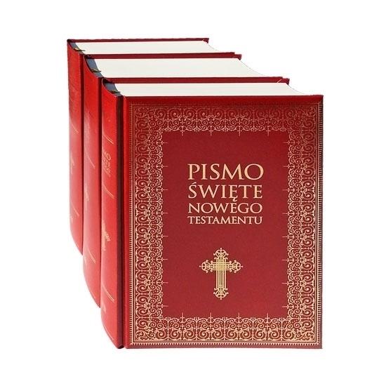Pismo Święte Starego i Nowego Testamentu, t. 1-3. Duże litery : Biblia