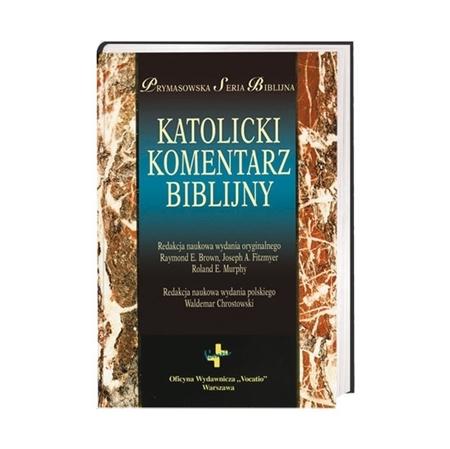 Katolicki Komentarz Biblijny - ks. prof. Waldemar Chrostowski : Książka