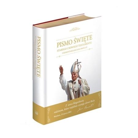 Pismo święte Nowego Testamentu z komentarzami Jana Pawła II