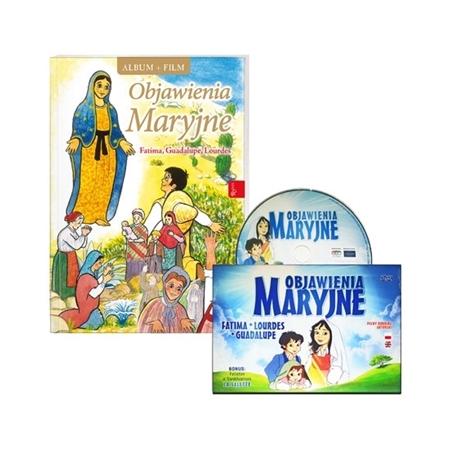 Objawienia Maryjne. Fatima, Guadalupe, Lourdes. Album z DVD