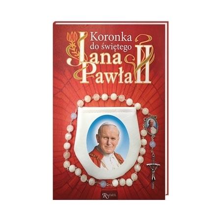 Koronka do świętego Jana Pawła II : Modlitewnik z koronką w etui