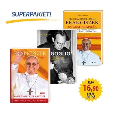 Superpakiet - Papież Franciszek