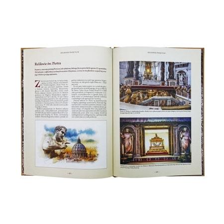 Najcenniejsze relikwie chrześcijaństwa. Album - zawartość
