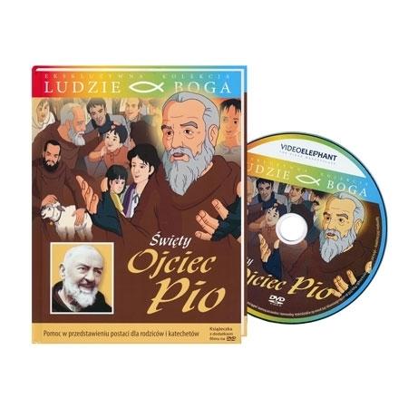 Święty Ojciec Pio. Animowany film DVD