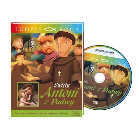 Święty Antoni z Padwy. Animowany film DVD