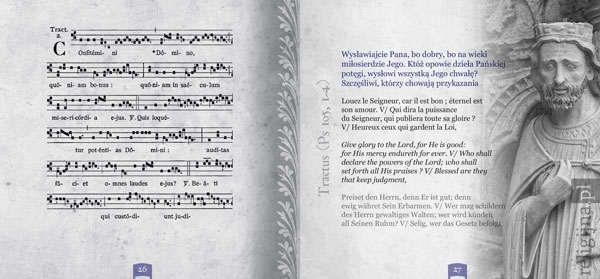 Chorał gregoriański. Kolekcja - zawartość
