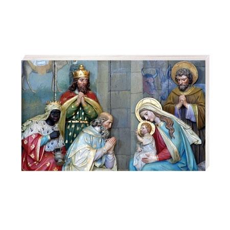 Pokłon Trzech Króli - Obrazek kolędowy - OB41