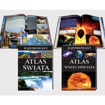 Ilustrowany atlas świata i Ilustrowany atlas wszechświata - zawartość