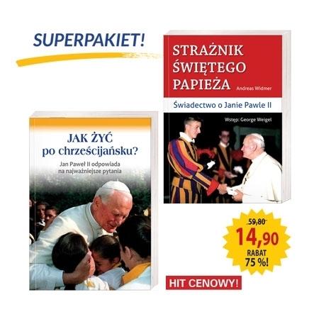 Superpakiet - Święty papież : Książka