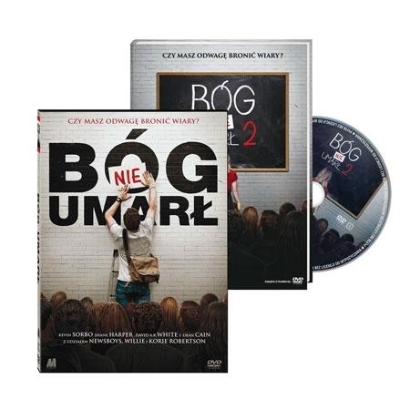 Bóg nie umarł, cz. 1 i 2. Film DVD - pakiet