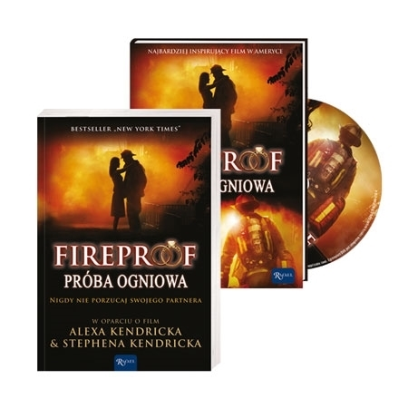 Fireproof. Próba ogniowa - książka oraz film DVD - pakiet