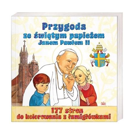 Przygoda ze świętym papieżem Janem Pawłem II : Książka