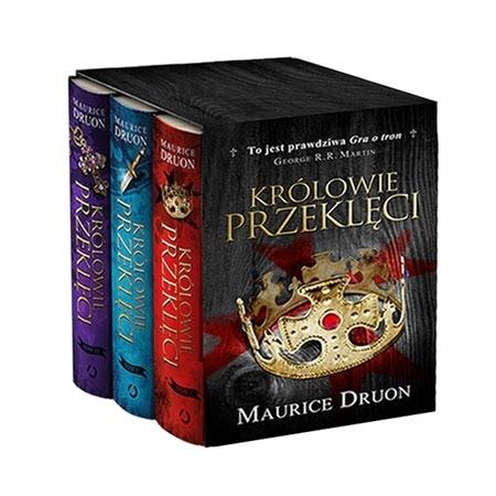 Królowie przeklęci, t. 1-3 komplet w etui - Maurice Duron : Książka