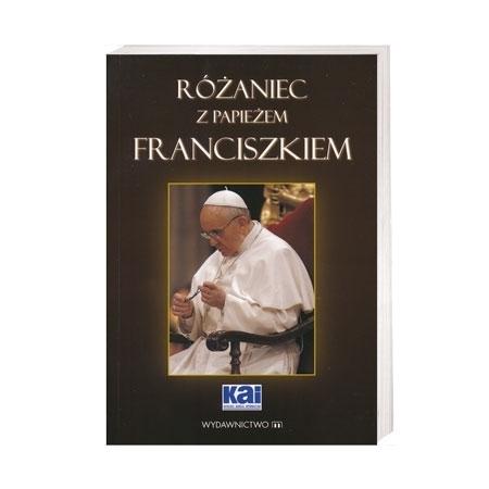 Różaniec z papieżem Franciszkiem - Piotr Słabek : Książka