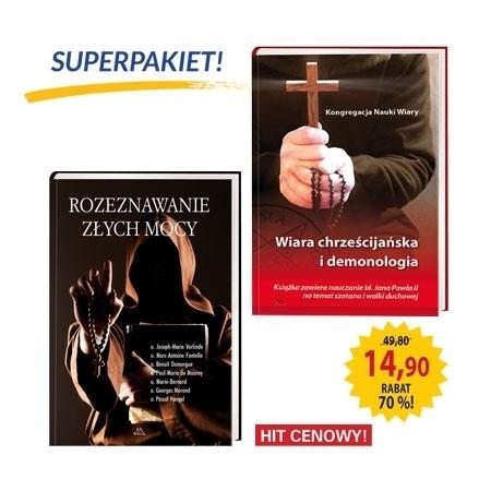 Superpakiet - Przeciw demonom : Rozeznawanie złych mocy : Wiara chrześcijańska i demonologia