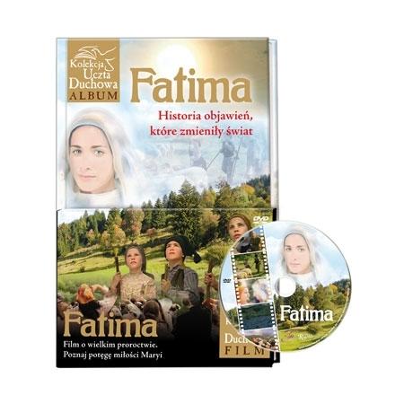 Fatima. Historia objawień... Album z filmem DVD