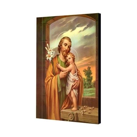Św. Józef - obraz na desce : Ikona