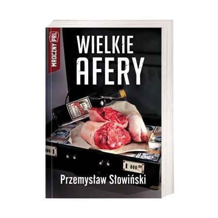 Wielkie afery - Przemysław Słomiński : Książka