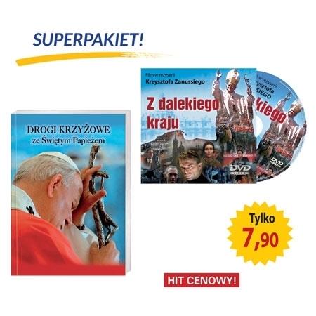 Drogi krzyżowe ze Świętym Papieżem. Książka + film DVD