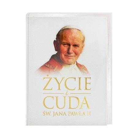 Życie i cuda św. Jana Pawła II - Marta Wielek : Książka