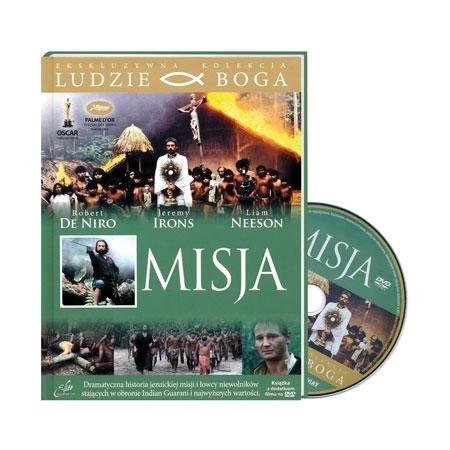 Misja - Jeremy Irons, Robert de Niro : Film DVD : Reż. Roland Joffe