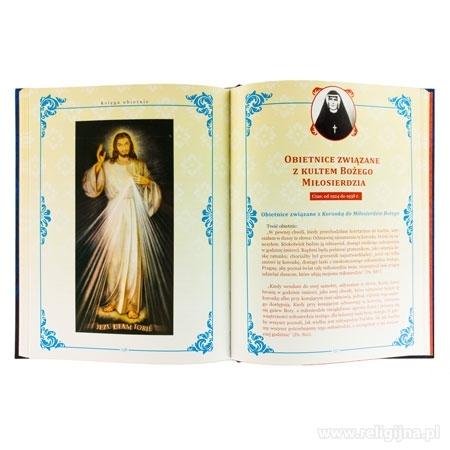Księga obietnic - Obietnice związane z kultem Bożego Miłosierdzia