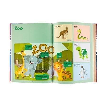 ZOO - Słownik obrazkowy dla najmłodszych angielsko-polski