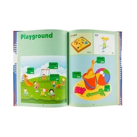 Playground - Słownik obrazkowy dla najmłodszych angielsko-polski