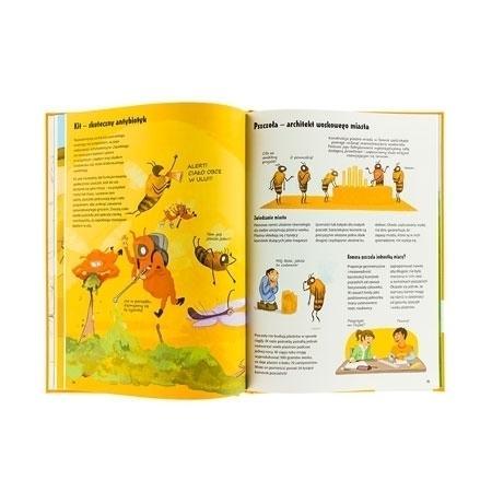 Pszczoła - architekt woskowego miasta : Wszystko o pszczołach - zawartość książki