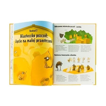 Miasteczko pszczół - życie na małej przestrzeni : Wszystko o pszczołach - zawartość książki