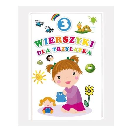 Wierszyki dla trzylatka : Książka
