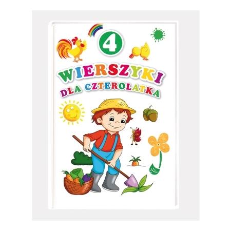 Wierszyki dla czterolatka : Książka