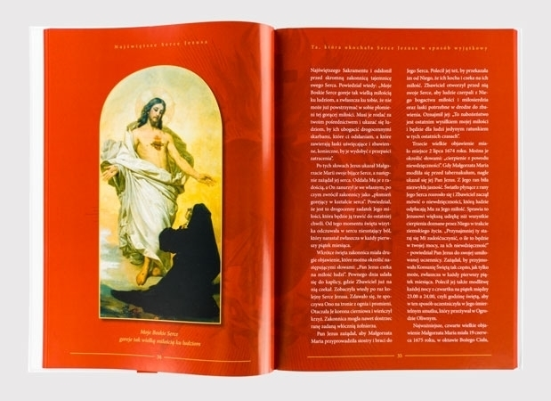Moje Boskie Serce goreje tak wielką miłością ku ludziom - Najświętsze Serce Jezusa. Nadzieja dla świata - zawartość albumu