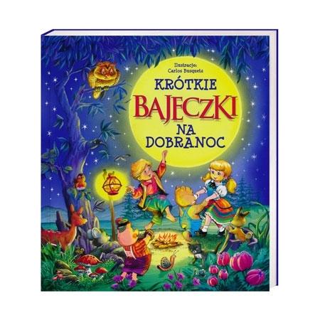 Krótkie bajeczki na dobranoc - Beata Wojciechowska-Dudek : Książka