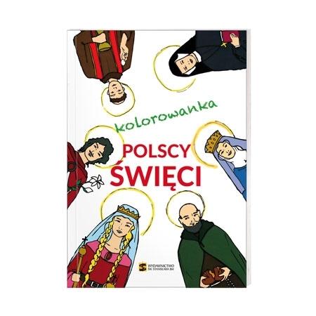 Polscy święci. Kolorowanka : Książka