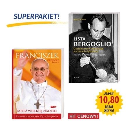 Superpakiet - Franciszek. Papież wielkiej nadziei - Lista Bergoglio