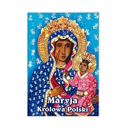 Maryja Królowa Polski. Kolorowanka