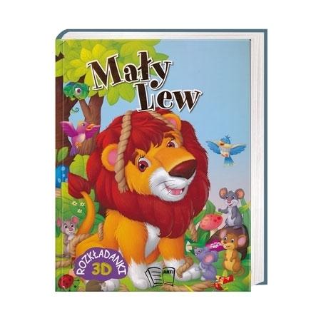 Mały lew. Rozkładanka 3D - Natalia M. Malanowska : Książka