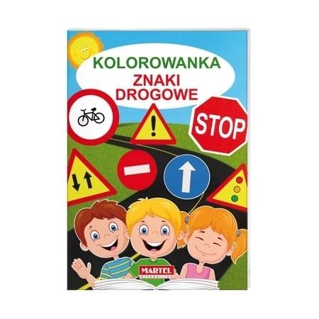 Znaki drogowe - Kolorowanka dla dzieci