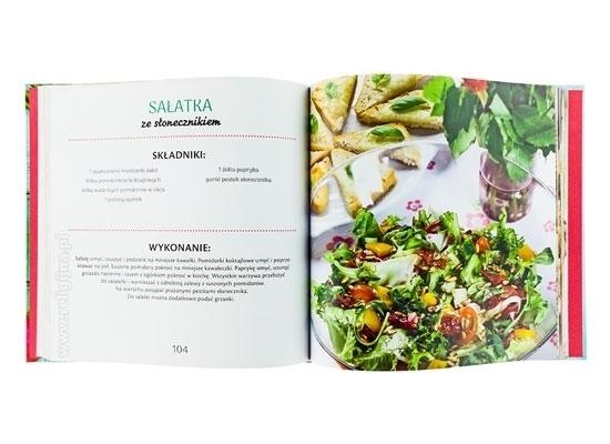 Sałatki i dania z warzyw. Żyj zdrowo - sałatka ze słonecznikiem