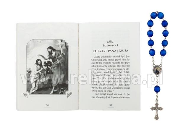 Różaniec chorych. Koronka i ilustracje w modlitewniku